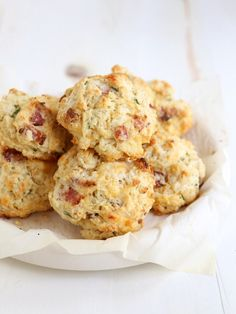 Cheddar, Bacon and Chive Drop Biscuits