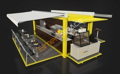 Interested in a pop-up container restaurant, kitchen or pop-up container fast food shop?