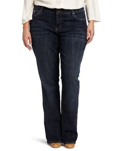 KUT from the Kloth Women's Plus-Size Farrah Bootcut Jean, Capture, 16W buy at http://www.amazon.com/dp/B0094G42I2/?tag=bh67-20