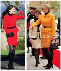 Kate Middleton vs. Princess Diana: Who Is More Stylish? - Kate Middleton vs Princess Diana - Zimbio