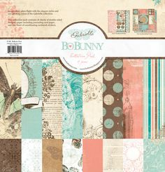 Bo Bunny Press - Gabrielle Collection - 12 x 12 Collection Pack at Scrapbook.com $18.99
