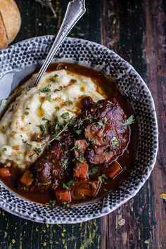 One-Pot 45 Minute Coq au Vin with Brown Butter Sage Mashed Potatoes Eintopf 45 Minuten Coq au . Beef Recipes, Chicken Recipes, Cooking Recipes, Healthy Recipes, Chicken Coq Au Vin Recipe, Recipies, Vegetarian Recipes, Potato Recipes, Meatloaf Recipes