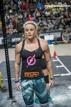The real deal:  Sara Sigmundsdóttir, 3rd Fittest Woman on Earth 2016