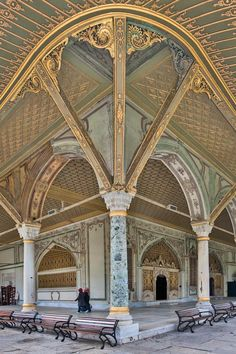 The Imperial Council building, Topkapi Palace, Istanbul, Turkey - travel Architecture Antique, Islamic Architecture, Beautiful Architecture, Beautiful Buildings, Art And Architecture, Beautiful Places, Amazing Places, Hagia Sophia, Places To Travel