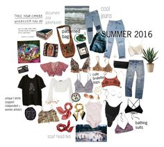 """""""looks"""" by s0nder ❤ liked on Polyvore featuring American Eagle Outfitters, La Perla, Moleskine, Kenneth Cole, For Love & Lemons, Levi's, Orelia, Ali NY, Ventidue and American Apparel"""
