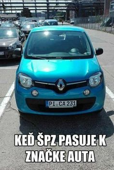 Ked špz pasuje k značke auta. Funny Images, Funny Pictures, Good Jokes, I Laughed, Funny Animals, Haha, True Stories, Comedy, Geek Stuff