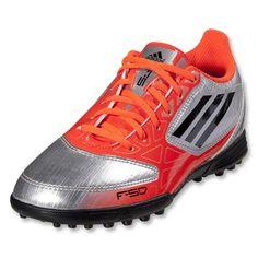 sale retailer 99e14 867f6 adidas F5 TRX TF Junior (Metsilver Infrared)