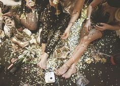 A glitz new year's eve party | Real Weddings and Parties | 100 Layer Cake
