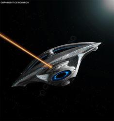Enterprise F Forward Concept by *Colourbrand on deviantART