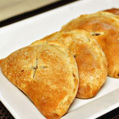 Hand pies stuffed with leftovers. | 26 Delicious Things You Can Make With A Tube Of Biscuit Dough