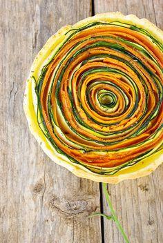 Tarte aux légumes : carottes et courgettes - Confessions d'une gourmande