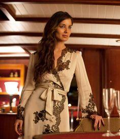 Berenice Marlohe wears a gorgeous robe by Carine Gilson in the movie Skyfall 007 Pretty Lingerie, Beautiful Lingerie, Sexy Lingerie, James Bond, Bond Girls, Bikinis, Fashion Beauty, Sexy Women, Celebs