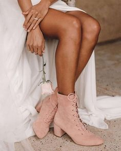 18 Beach Wedding Shoes That Inspire ❤ beach wedding shoes nude with low heels foreversoles #weddingforward #wedding #bride Low Heel Boots, Low Heels, Wedding Looks, Wedding Bride, Wedding Dresses, Beach Wedding Shoes, Bare Foot Sandals, Dress With Boots, Cowgirl Boots