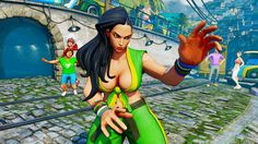 Capcom anunció nuevo personaje para Street Fighter V - http://games.tecnogaming.com/2015/10/capcom-anuncio-nuevo-personaje-sfv/