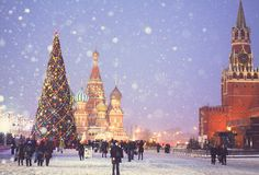 moscow, Mosca a Natale