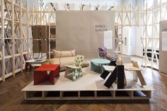 The exhibition Nomadic Furniture 3.0, at the Museum of Applied Arts in Vien – MAK, is based on Victor Papanek and James Hennessey's groundbreaking DIY bibles: Nomadic Furniture, 1973-1974.
