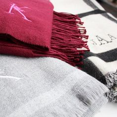 Blanket scarves that are cozy on cozy on cozy!
