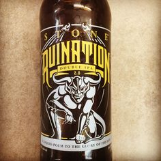 Stone Brewery - Ruination Double IPA  12oz-6pack Or 22oz Single