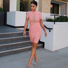 #PeachSeries Yesterday's  #OOTD  Dress @houseofcb  Shoes @louboutinworld
