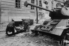 Russian tanks on the streets of Budapest. Get premium, high resolution news photos at Getty Images Military Armor, Budapest Hungary, Cold War, Military Vehicles, Wwii, Revolution, History, Street, Image