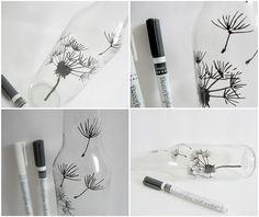 DIY glassware painted glassware diy, bake sharpie on glass, glass marker, doodle art, diy glassware