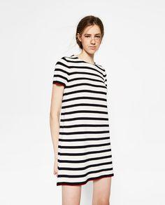 ZARA - WOMAN - SHORT SLEEVE DRESS