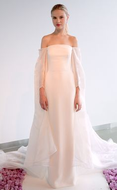 Pamella Roland from Best Looks From Fall 2015 Bridal Collections | E! Online