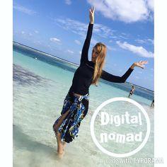 Even if I have a homebase I'm a #digitalnomad for life.