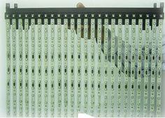 휘는 투명 전광판, Impression TCF Series 사진입니다.