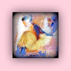 bailarina azul