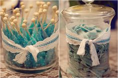 something blue. bridal shower