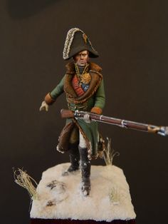 Michel Ney in Russia 1812 - small version by Carsten Abel · Putty&Paint Empire, Battle Of Borodino, Etat Major, Field Marshal, French History, Military Figures, War Image, Miniature Figurines, Napoleonic Wars