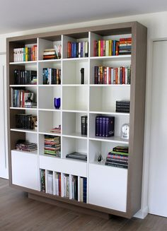 Wandmeubel boekenkast design hoek wandkast en tv meubel