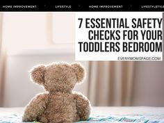 Making sure that your young child's room  is safe is one of the biggest worries that we have as parents, and although we do usually... Baby Monitor, Baby Cribs, Little Ones, Infant, Parents, Children, Room, Dads, Young Children