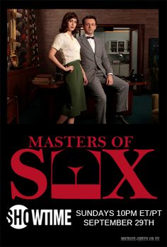 Masters of Sex | Next on my tv queue.