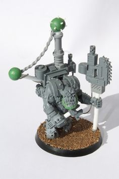 In Warhammer 40,000, many players use modelling putty, plasticard and spare parts from other models to make their models personal