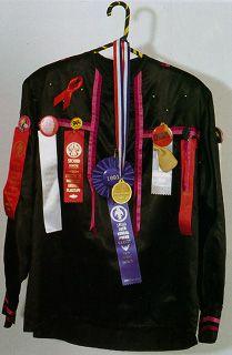 Linda Lomahaftewa (Hopi-Choctaw, b. 1947)    RIBBON SHIRT 1994  clothing - size XL