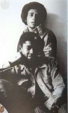 *Peter Tosh* & Bob Marley. More fantastic pictures and videos of *The Wailers* on: https://de.pinterest.com/ReggaeHeart/
