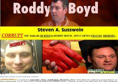 RODDY BOYD, Tabloid Fraudster Implicated in Multiple Frauds