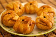 Lavang Latika A traditional Bengali sweet served as a dessert.