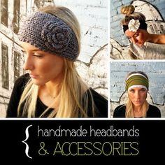 The Small Things Blog: How to Wear a Knitted Ear Warmer