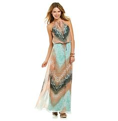 Product: Vince Camuto® Tie-Waist Maxi Dress