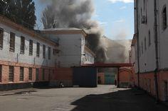 В Киеве горит Лукьяновское СИЗО