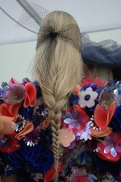 Hairstylist Sam McKnight reports from backstage at Chanel's spring/summer 2015 couture show