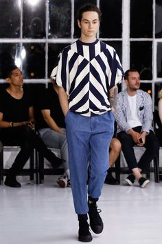 N.Hoolywood Spring 2016 Menswear Collection - Vogue