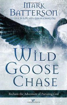Wild Goose Chase: Reclaim the Adventure of Pursuing God by Mark Batterson http://www.amazon.com/dp/1590527194/ref=cm_sw_r_pi_dp_Q4RTtb15PX5YMVCZ