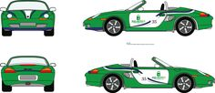 Porsche Boxster S livery for 2015  http://www.crhracing.co.uk