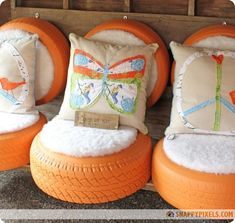 DIY Projects with Old Recycled Tires (26 Pictures) - Snappy Pixels