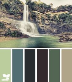 Waterfall palette