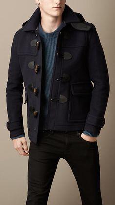 Wool Duffle Jacket  URL : http://amzn.to/2mJUdhm Discount Code : UWSXAGLG